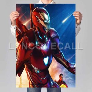 Iron Man Avengers Poster Print Art Wall Decor