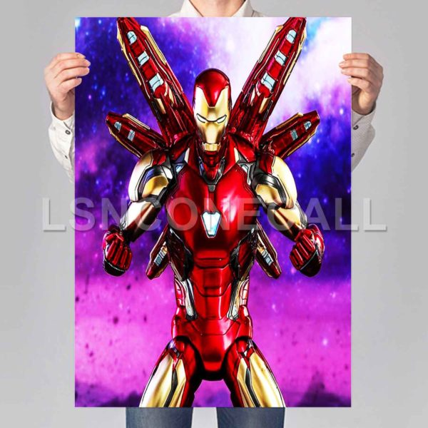 Iron Man avengers endgame Poster Print Art Wall Decor