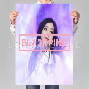 Jisoo blackpink Poster Print Art Wall Decor