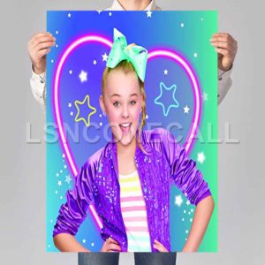 Jojo Siwa Love Poster Print Art Wall Decor