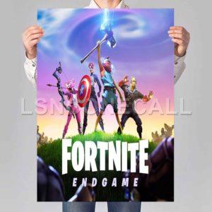 fortnite avengers endgame Poster Print Art Wall Decor