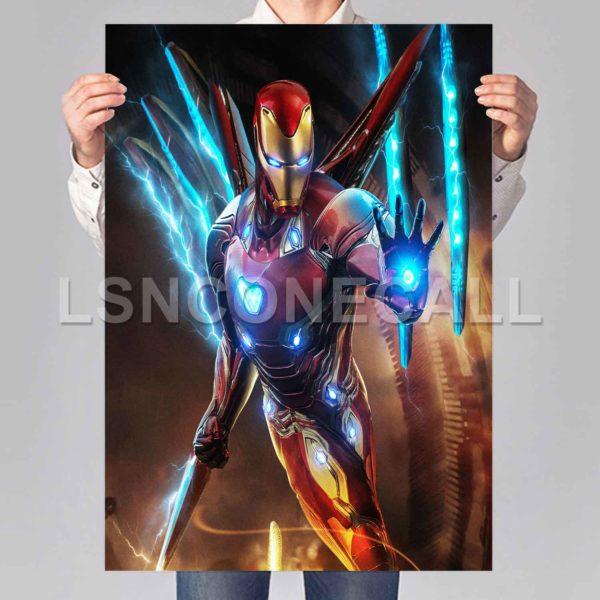 iron man armor Poster Print Art Wall Decor