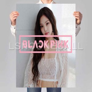 jennie blackpink Poster Print Art Wall Decor
