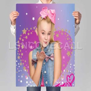jojo siwa bling Poster Print Art Wall Decor