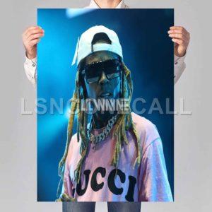 lil wayne Hip Hop Poster Print Art Wall Decor