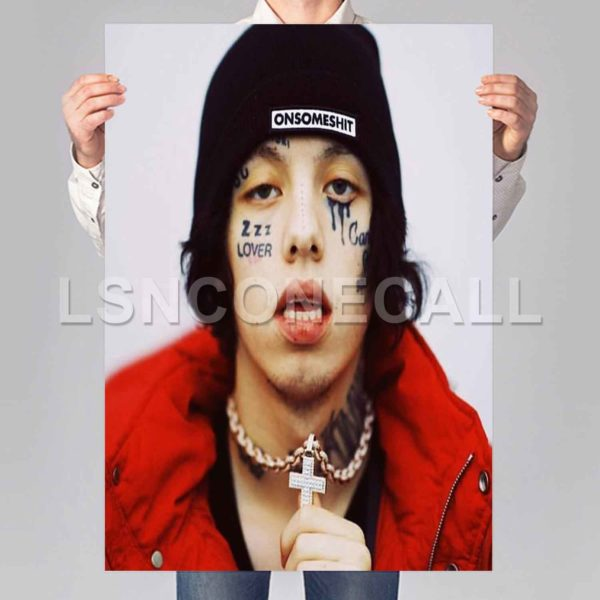 lil xan Hip Hop Poster Print Art Wall Decor