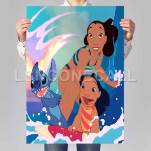 lilo and stitch Poster Print Art Wall Decor