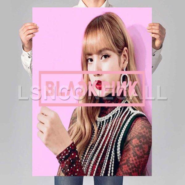 lisa blackpink Poster Print Art Wall Decor