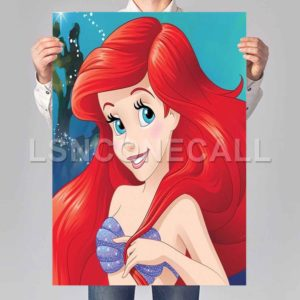 little mermaid disney Poster Print Art Wall Decor