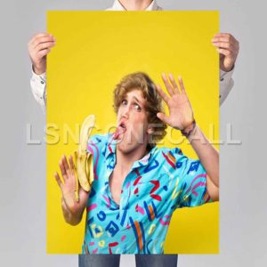 logan paul Poster Print Art Wall Decor