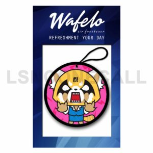 Custom Aggretsuko Air Freshener