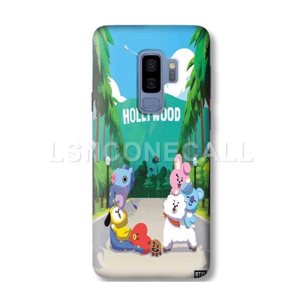BT21 Hollywood Samsung Galaxy Case