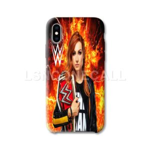 Becky Lynch WWE iPhone Case