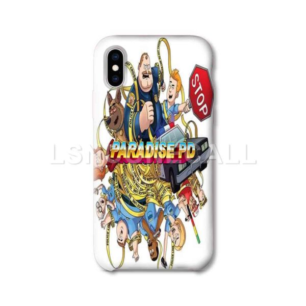 Paradise PD iPhone Case