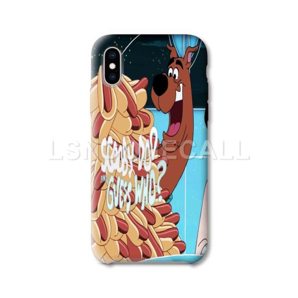 Scooby-Doo and Guess Who iPhone Case