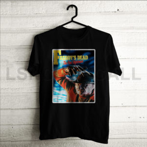 Custom A Nightmare on Elm Street Freddys Dead T-Shirt