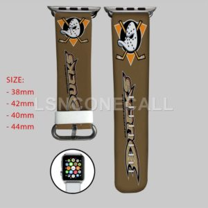 Anaheim Ducks NHL Apple Watch Band