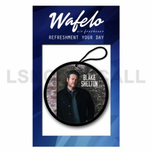 Custom Blake Shelton Air Freshener