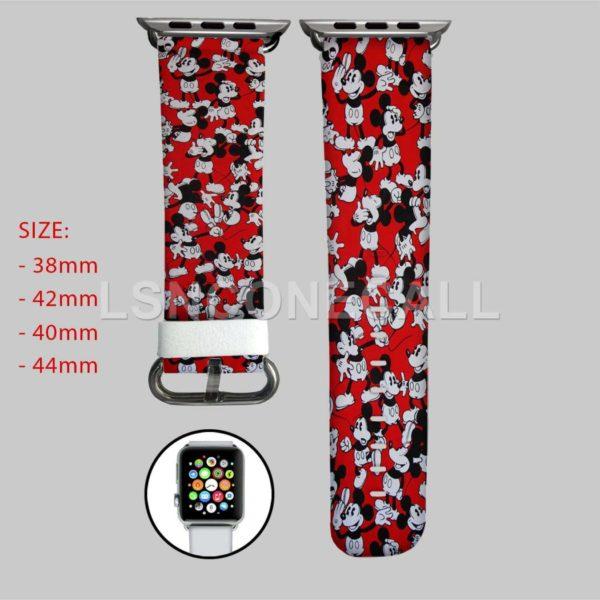 Disney Mickey Mouse Pattern Apple Watch Band