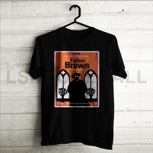 Custom Father Brown Season 7 T-Shirt