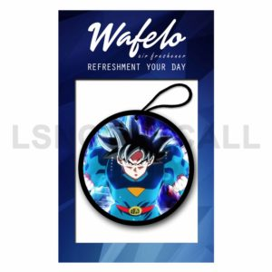 Custom Goku Ultra Instinct DBS Air Freshener