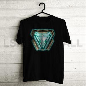 Custom Iron Man Arc Reactor T-Shirt
