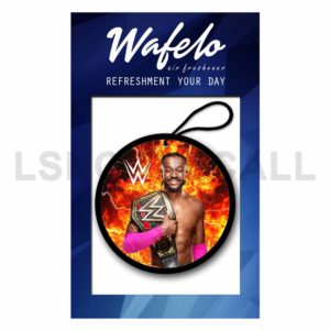 Custom Kofi Kingston WWE Air Freshener