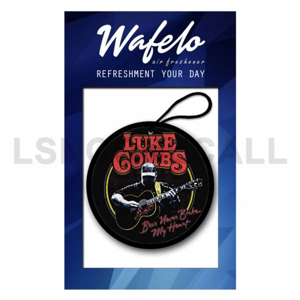 Custom Luke Combs Air Freshener