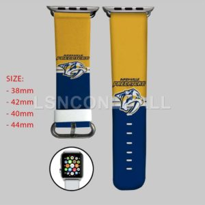 Nashville Predators NHL Apple Watch Band