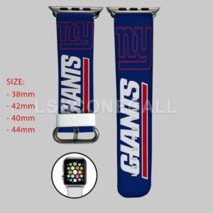 New York Giants NFL Apple Watch Band