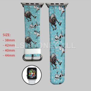 Olaf and Sven Disney Apple Watch Band