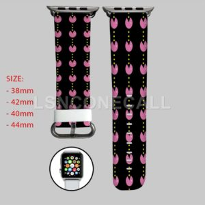 Pacman Pattern Apple Watch Band