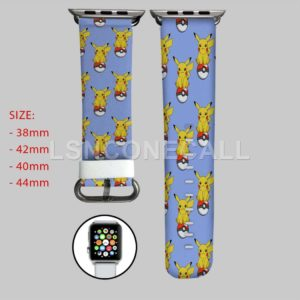 Pikachu Pokemon Apple Watch Band