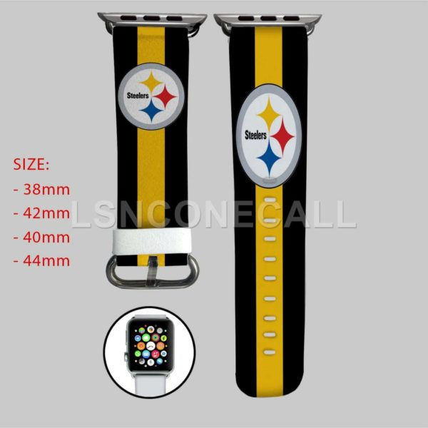 Pittsburgh Steelers Apple Watch Band