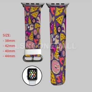Pizza Donut Monster Apple Watch Band