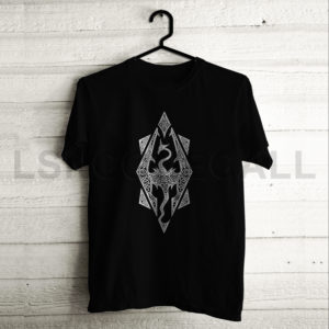 Custom The Elder Scrolls V Skyrim T-Shirt