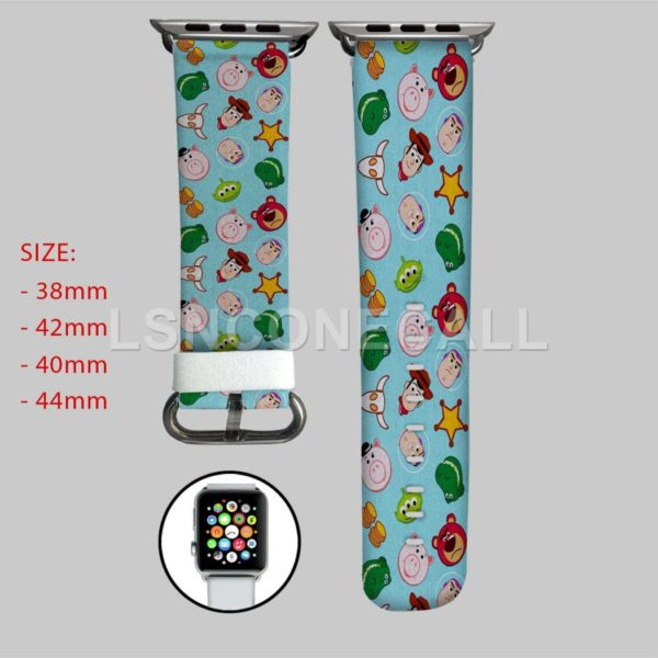Toy Story Characters Apple Watch Band