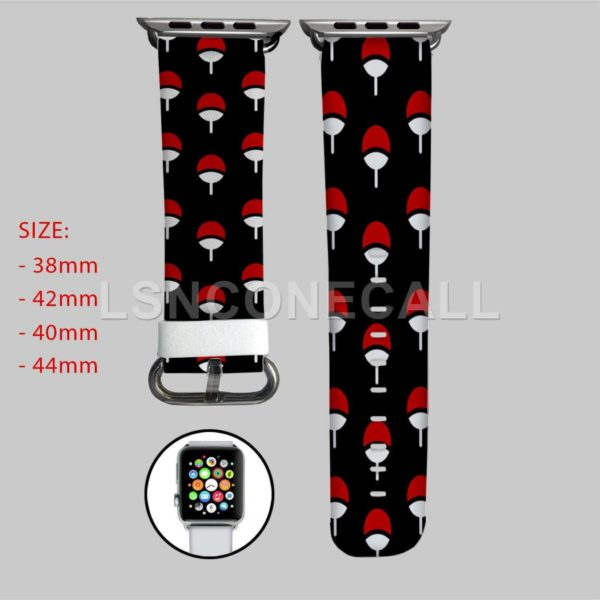 Uchiha Clan Naruto Apple Watch Band