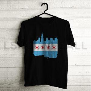 Custom Chicago City T-Shirt