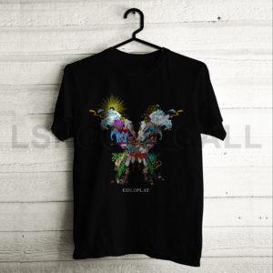 Custom Coldplay Music T-Shirt