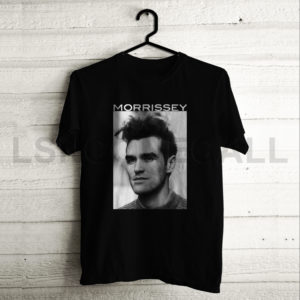 Custom morrissey Music T-Shirt