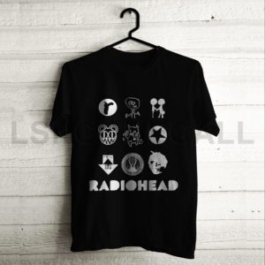 Custom radiohead music T-Shirt