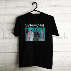 Custom Weezer Music T-Shirt