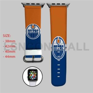 Edmonton Oilers NHL Apple Watch Band