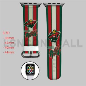 Minnesota Wild NHL Apple Watch Band