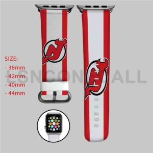 New Jersey Devils NHL Apple Watch Band