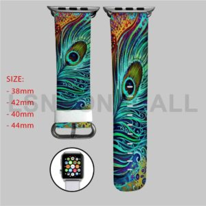 Peacock Feather Apple Watch Band