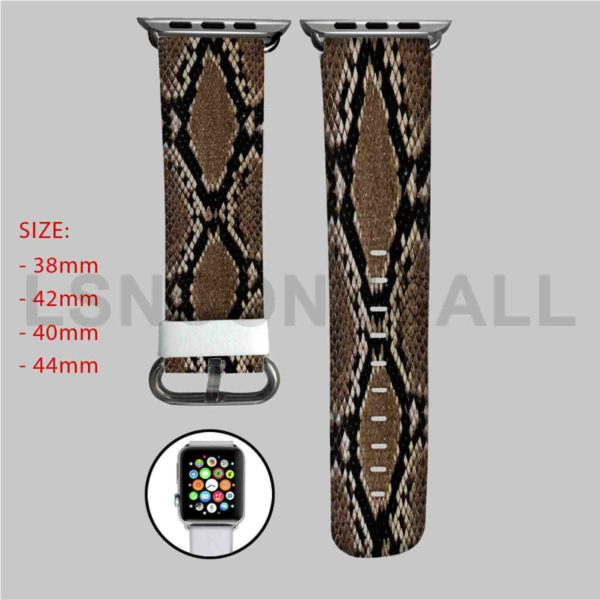 Snake Skin Apple Watch Band