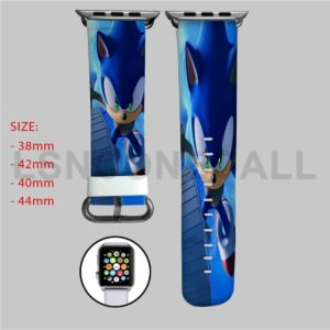Sonic Hedgehog Apple Watch Band